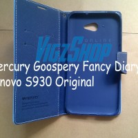 Flip Cover / Flip Case Mercury Goospery Fancy Diary Lenovo S930
