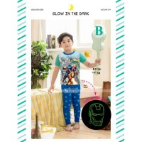 Baju Tidur / Piyama Anak Laki-laki Avenger Assembled Gw-119-b-n2