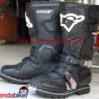 harga Sepatu Cross Rnl Hitam 3 Belt Tokopedia.com