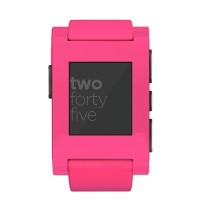 Pebble Limited Edition Classic Neon Smartwatch - Pink