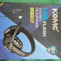 KOMC KM-9700 USB Flash Stereo Headphone