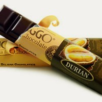 40gr Bars-CHOCOLATE MONGGO*rasa DURIAN* Cokelat Khas Jogjakarta