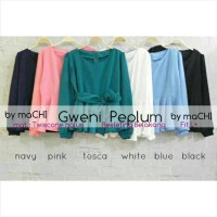harga Supplier Baju Hijab : Gweni Peplum Ori Limited Stock / Ori By Machi Tokopedia.com