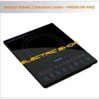 Kompor Induksi / Induction Cooker - PHILIPS HD 4932