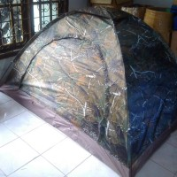 harga (vntg) Tenda Dome Camo Daun Oak Kap 2-3p Single Layer Tokopedia.com