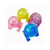 Fwuwong Exercise Ball Small Bola Hamster Lepas Pasang Plastik