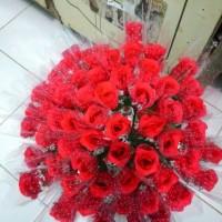 Jual Bunga Mawar Plastik Murah