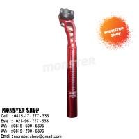 Seatpost Miche 25,4mm Red