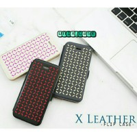 harga X Leather Flip Case Hp/casing Hp For Iphone 4/4s 5/5s Tokopedia.com