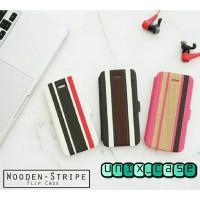 harga Wooden Stripe Flip Case Hp/casing Hp For Iphone 4/4s 5/5s 6 Tokopedia.com
