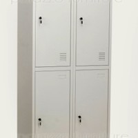 Safeguard SL B2 Metal Locker - Light Grey