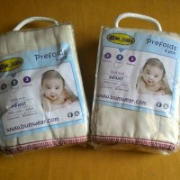 Bumwear prefold unbleached for infant