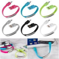 USB Cable Bracelet / Gelang Kabel Data Transfer & Charge Micro Usb
