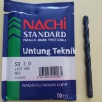 Mata Bor Besi 7mm Nachi Hss