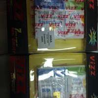baterai vizz double power evercoss A66A 3000mAh