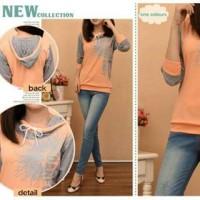 harga Fashion Baju Wanita - Sweater Hoodie Danfonf Tokopedia.com