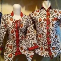Batik Couple Cacing Merah