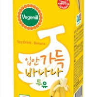 VEGEMILL, KOREAN BANANA SOY MILK