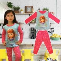 Supplier baju Anak branded Piyama Princess Sofia (Kids)