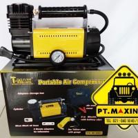 T-Max Portable Air Compressor ( Kompresor Udara untuk Pompa Ban )