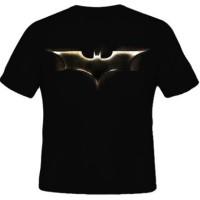 Jual Kaos Distro Murah Logo Batman Emas - VR Kaos Murah