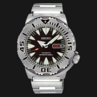 Seiko SRP307K1 Black Monster Automatic Diver 200M