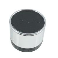 IBomb Tube EX350T Wireless Bluetooth MicroSd Speaker Portable Silver