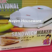 Sandwich Toaster Airlux SA 6026 -Pemanggang Roti Tawar Bakar