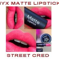 NYX MATTE LIPSTICK - STREET CRED