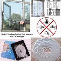 Tirai Jendela Anti nyamuk dan serangga
