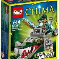 LEGO 70126 LEGENDS OF CHIMA Crocodile Legend Beast