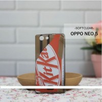 Casing HP Custom Softclear Oppo Neo 5 Kitkat