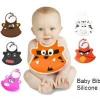 Celemek Bayi Silikon / Baby Bibs Silicon