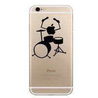 Jual Apple iPhone Decal - Apple Drummer Murah