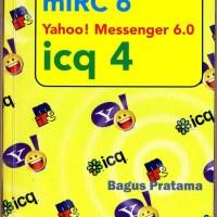 Jual Buku Bekas: mIRC 6, Yahoo! Messenger 6, icq 4 Murah
