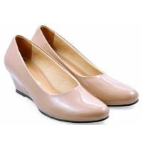 harga Sepatu Wanita Cewek Kantor Kerja Formal Pantofel Resmi Wedges Zl090 Tokopedia.com