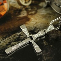 Dominic Toretto Fast Furious Cool Cross Pendant