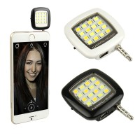 Selfie LED Camera Photo Video Light Lamp Selfie flash Lampu 3.5mm