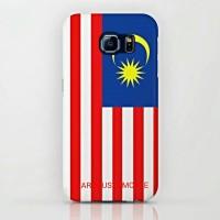 Malaysia Country Flag Samsung Galaxy S6 Custom Hard Case