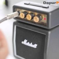 Mini Guitar Amplifier Speaker Marshall MS2 (ORIGINAL)
