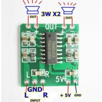 PAM8403 Modul Power Digital Amplifier board 2x3W 5V