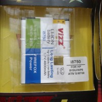 Baterai Vizz Samsung Galaxy Ativ S I8750 4600mah