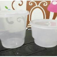 pudding/agar cup+tutup