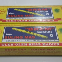 harga Brem Madiun Cap Suling Mas 100 Gr - Oleh Oleh Kediri Tokopedia.com