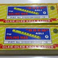 harga Brem Madiun Cap Suling Mas 200 Gr - Oleh Oleh Kediri Tokopedia.com