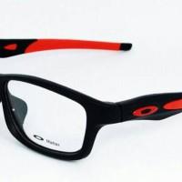 Frame Kacamata Oakley Crosslink Black Red Frame Kacamata Pria Murah