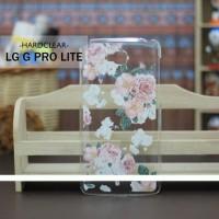 Casing Hp Custom Hardclear Lg G Pro Lite Flower