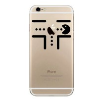 Jual Apple iPhone Decal - Pacman Eat Apple Murah