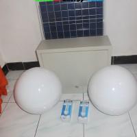 harga Paket Lampu Taman Bulat 10watt X 2 50wp Tokopedia.com