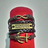 harga Gelang Jangkar Love Invinity Tokopedia.com